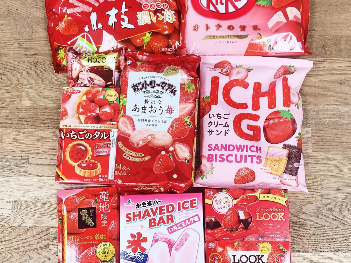 Candies and sweets from Asahi Imports