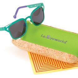 "Silent auction item: <a href=""http://la.racked.com/archives/2013/10/16/frames_for_days_la_eyeworks_big_sale_returns_next_week.php""target=""_blank"">l.a. Eyeworks</a> Garza sunglasses."