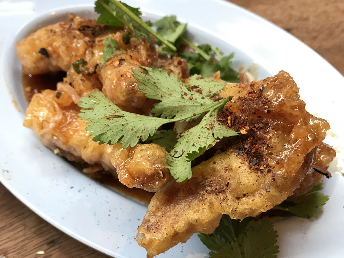 The best restaurant dishes of the decade include Smoking Goat's chilli fish sauce wings