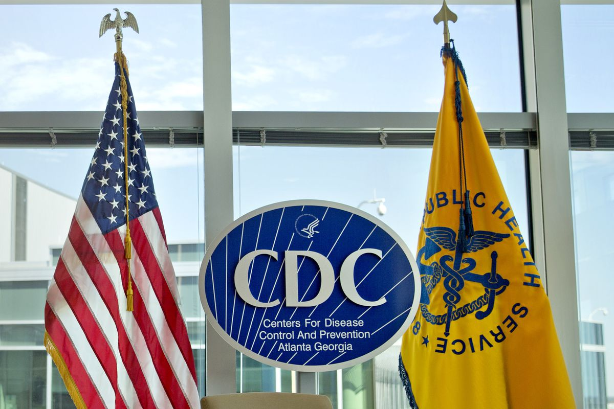 FILE - This Nov. 19, 2013 file photo shows a Centers for Disease Control and Prevention logo at the agency's federal headquarters in Atlanta. Reacting to a Friday, Dec. 15, 2017 story in The Washington Post, health leaders say they are alarmed that offici