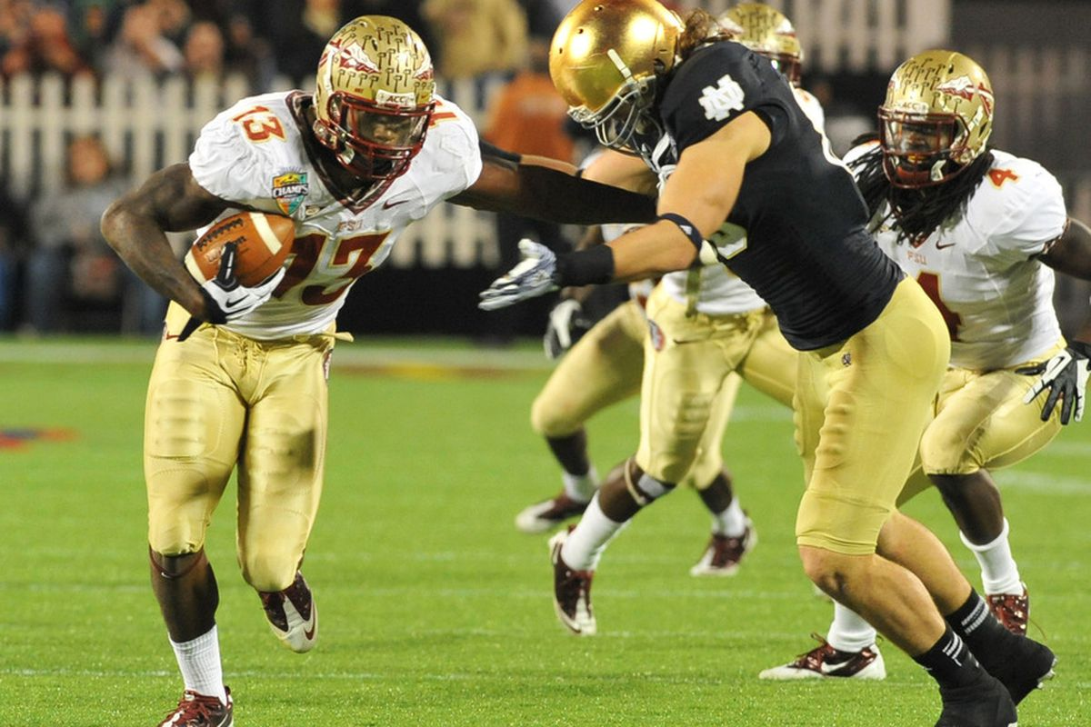 Florida State Vs Notre Dame Recap Champs Sports Bowl 2011 The Numerical Sbnation Com
