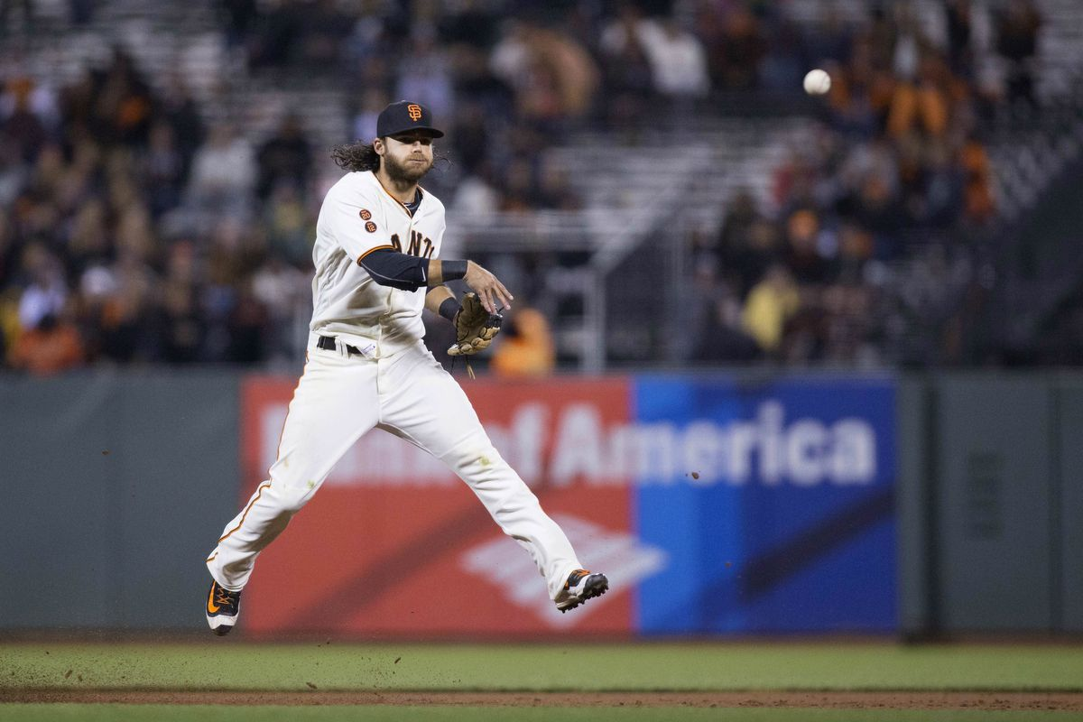 Didn't have time to write about it, but this Brandon Crawford kid can sure field a mean shortstop.