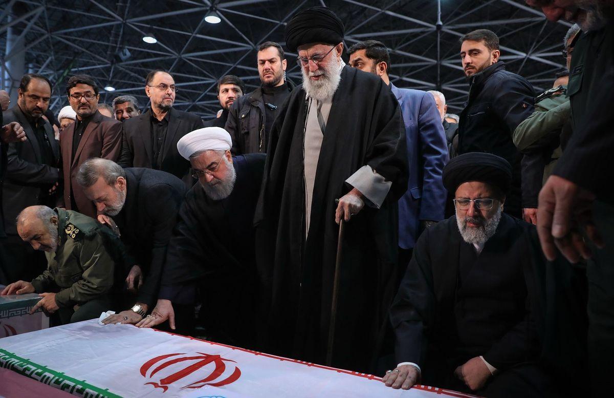 Funeral of Qasem Soleimani in Iran