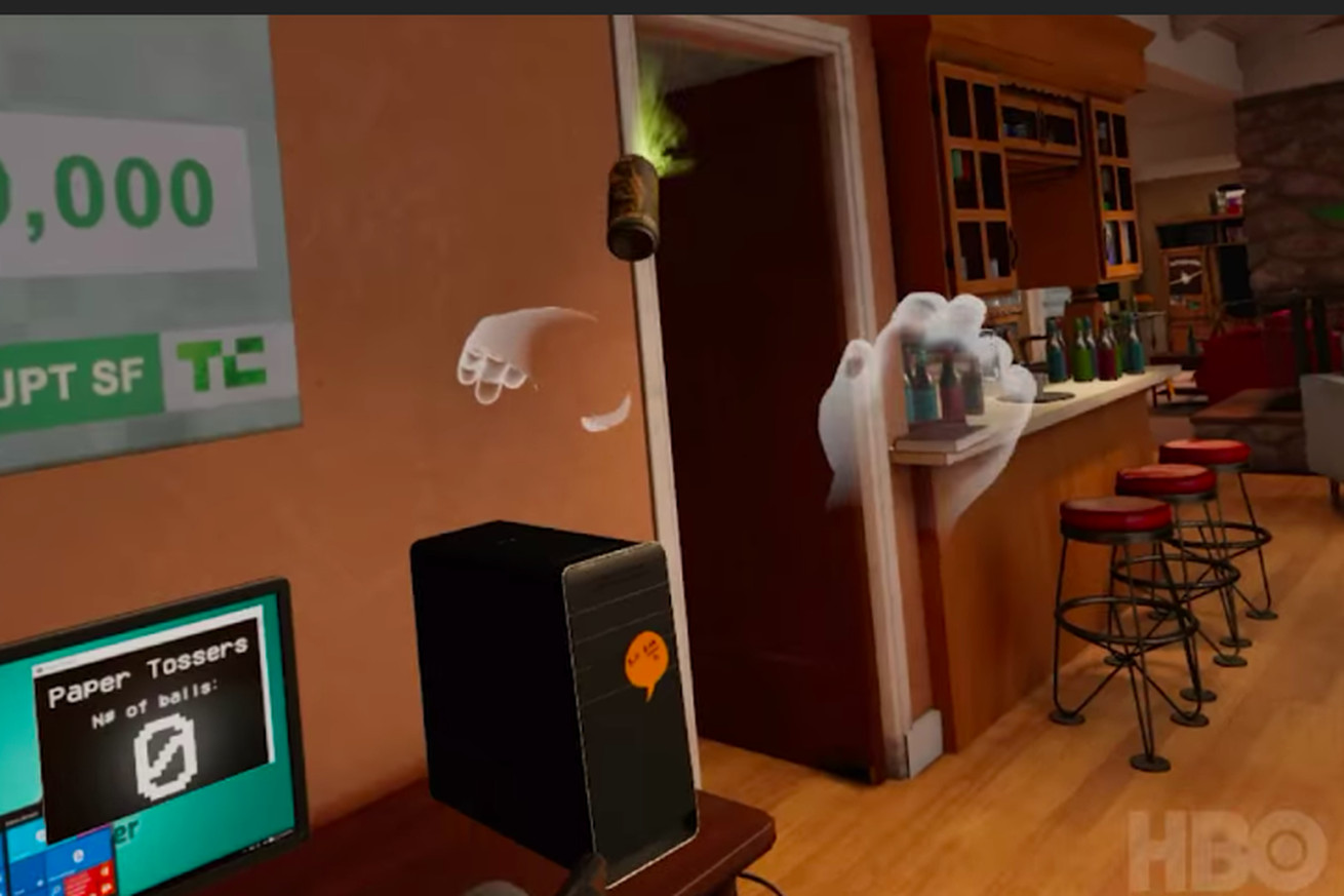 silicon valley s vr experience looks ironically fun