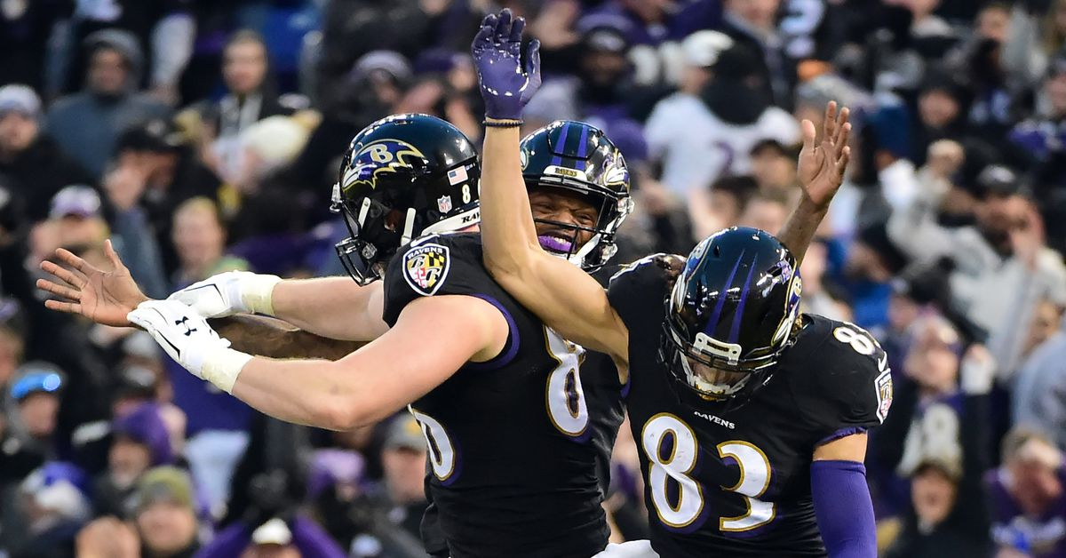 Predicting the Ravens statistical leaders in each major offensive category