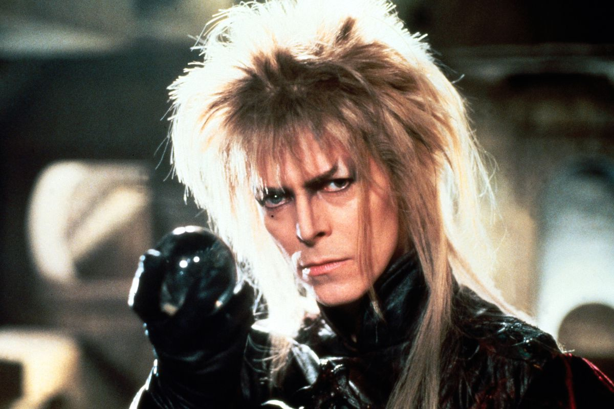 David Bowie as the Goblin King Jareth in Labyrinth