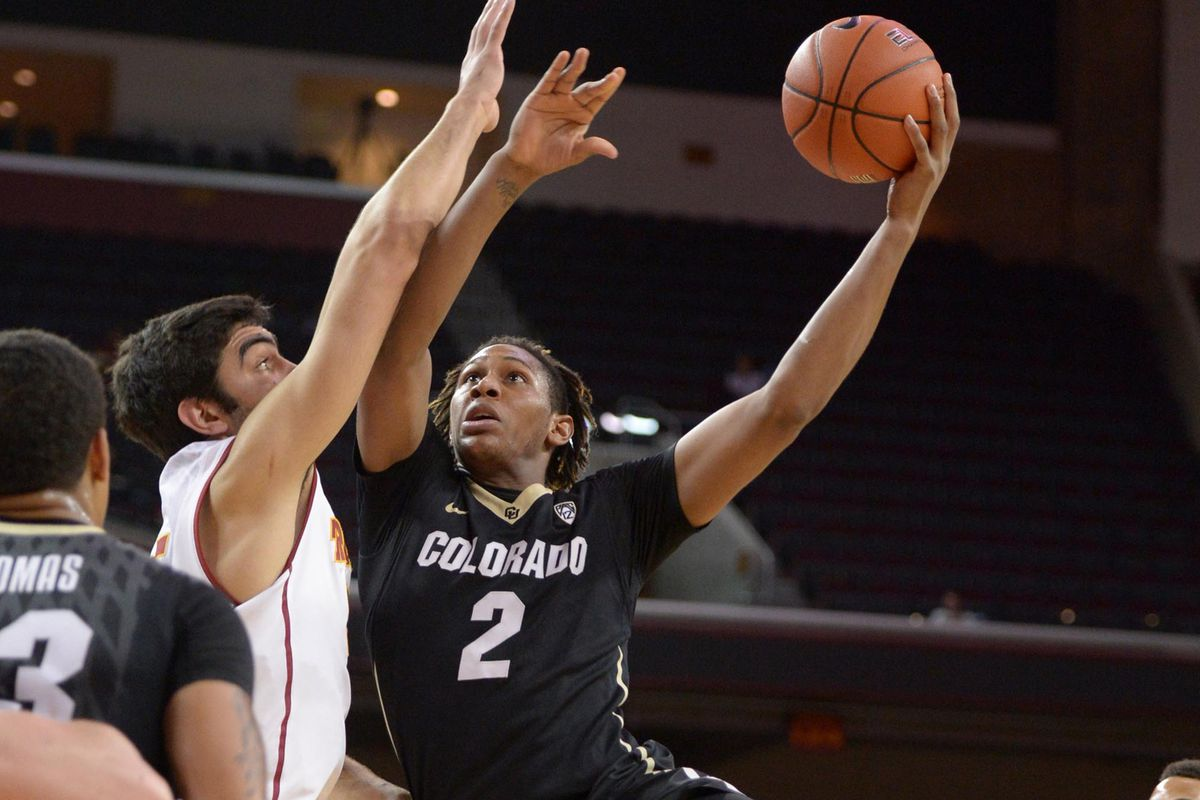 Xavier Johnson led Colorado with 20 points.