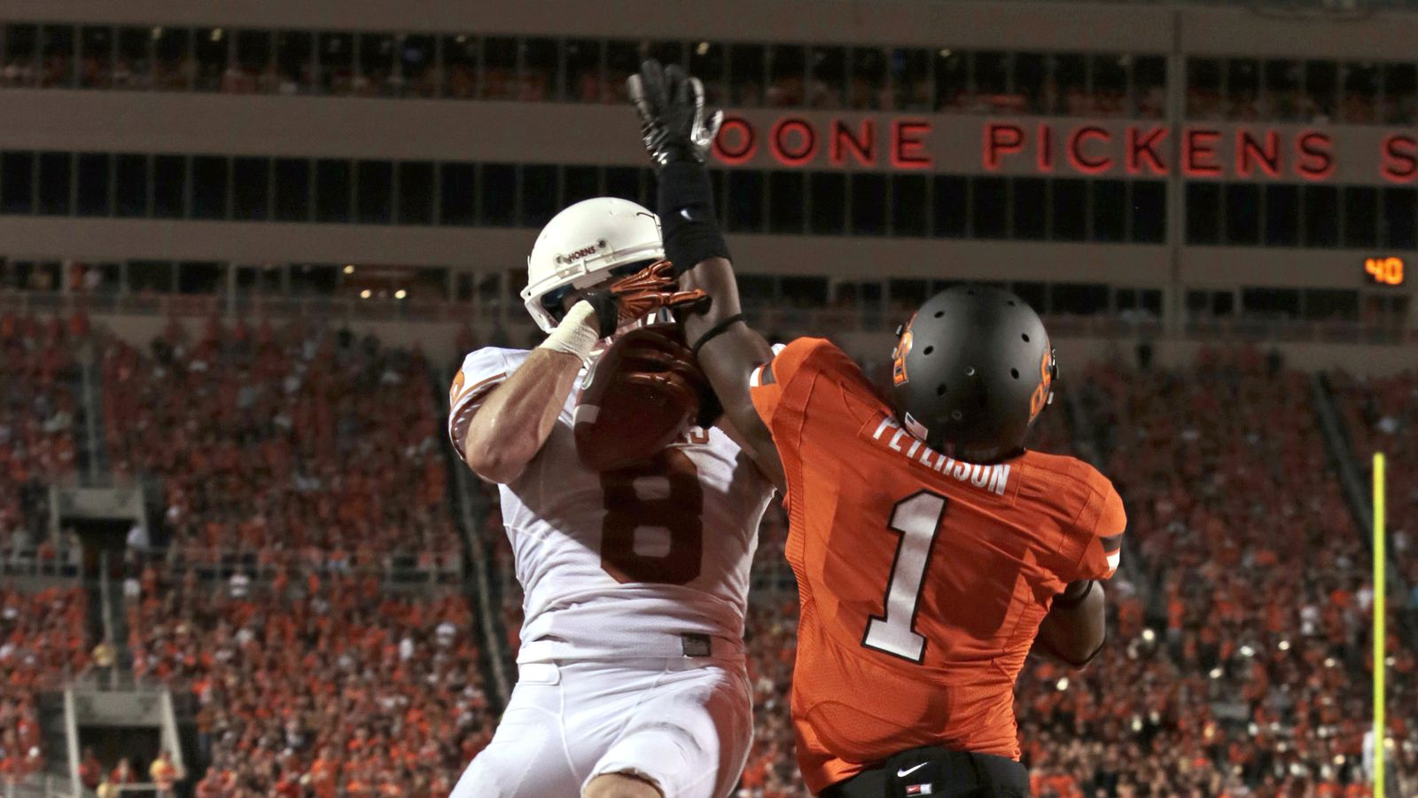 one party state texas vs oklahoma essay Get a summary of the texas longhorns vs oklahoma state cowboys football game.