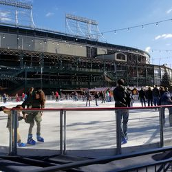 Another view of the skating rink