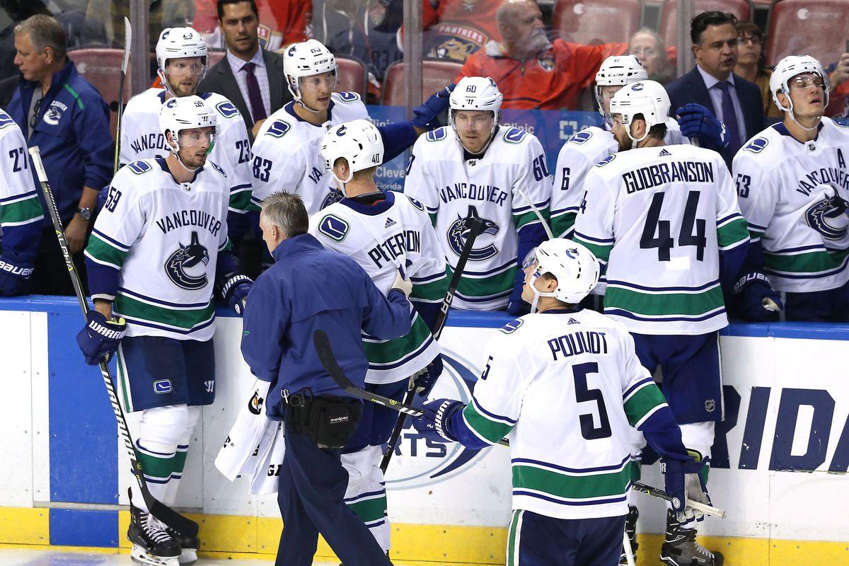 NHL: Vancouver Canucks at Florida Panthers