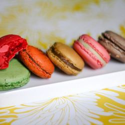 """Macarons from Mille Feuille by  <a href=""""http://www.flickr.com/photos/j0annie/5827126156/in/pool-29939462@N00/"""">jwannie</a>."""