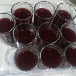 """Strawberry and basil gaspacho?"" —<a href=""http://twitter.com/#!/robinschulie/status/86777006586466304"" rel=""nofollow"">@robinschulie</a>"