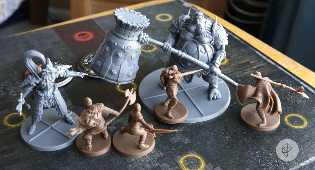 Dark Souls: The Board Game - collection of miniatures