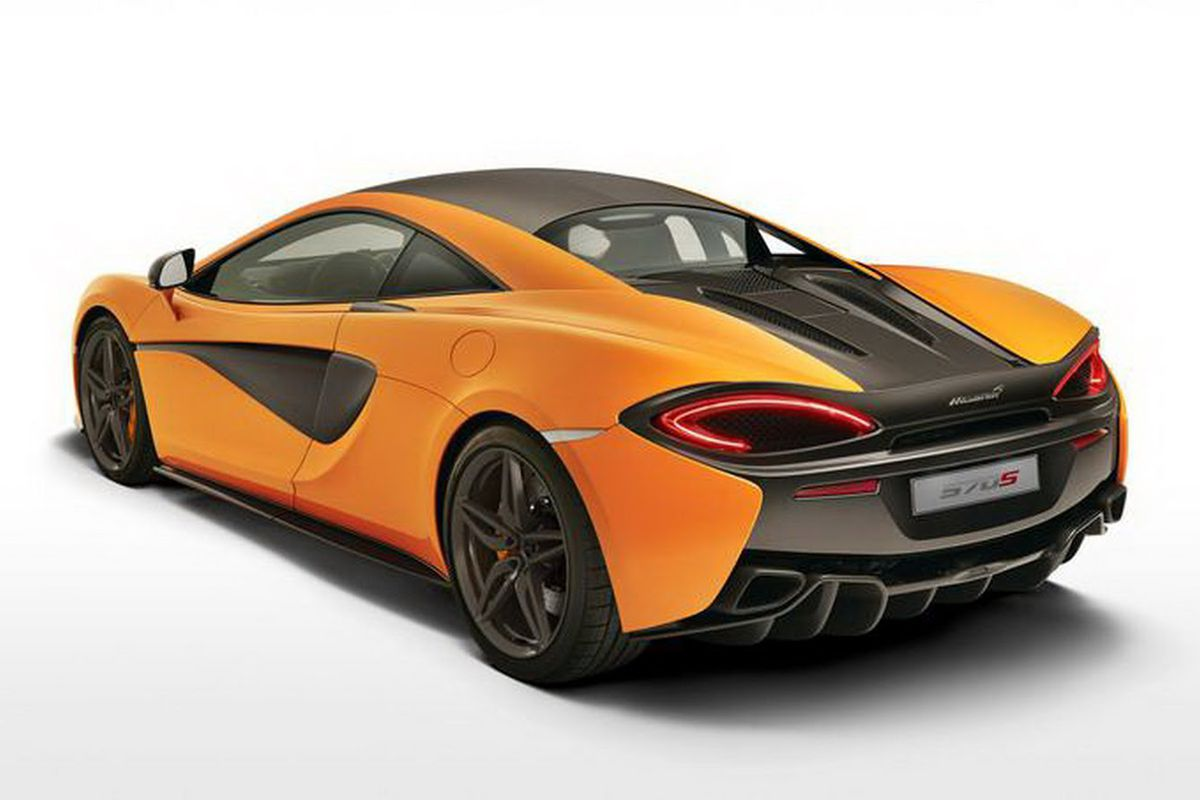 See the first pictures of McLaren's cheapest ever supercar - The Verge
