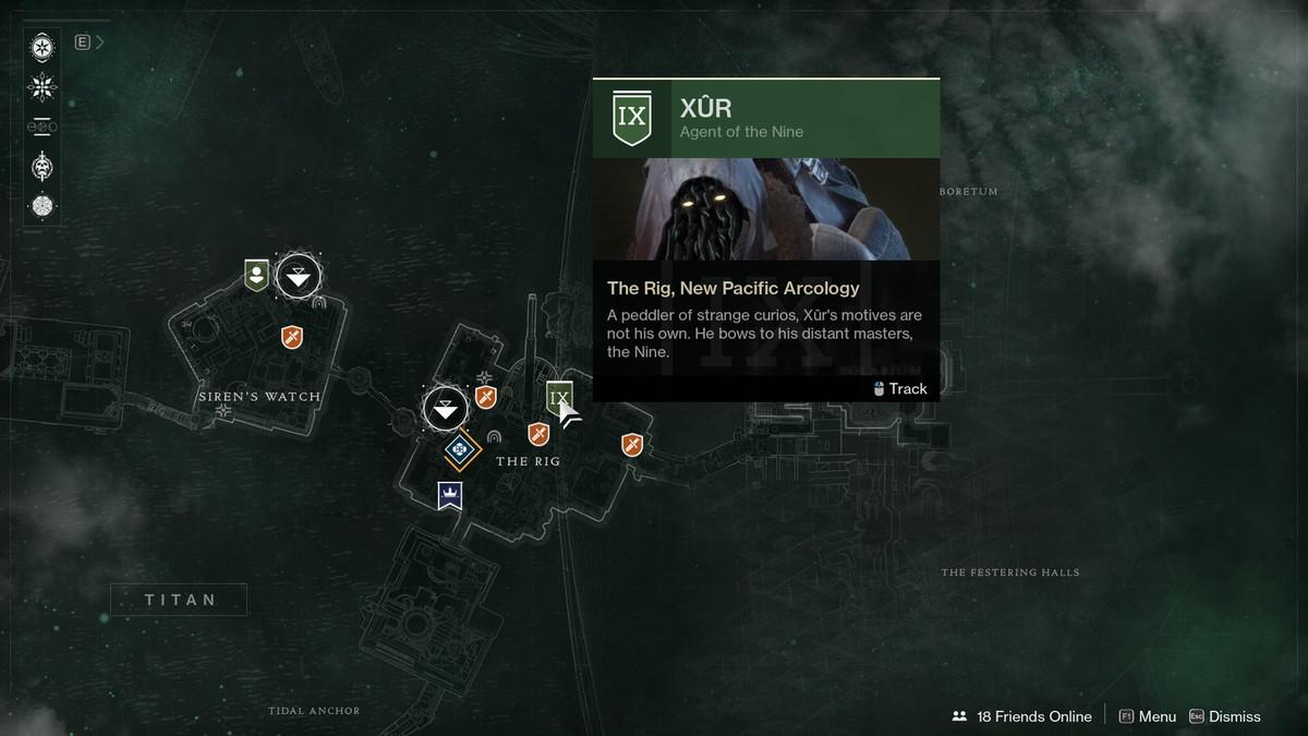 Destiny 2 Xur Titan