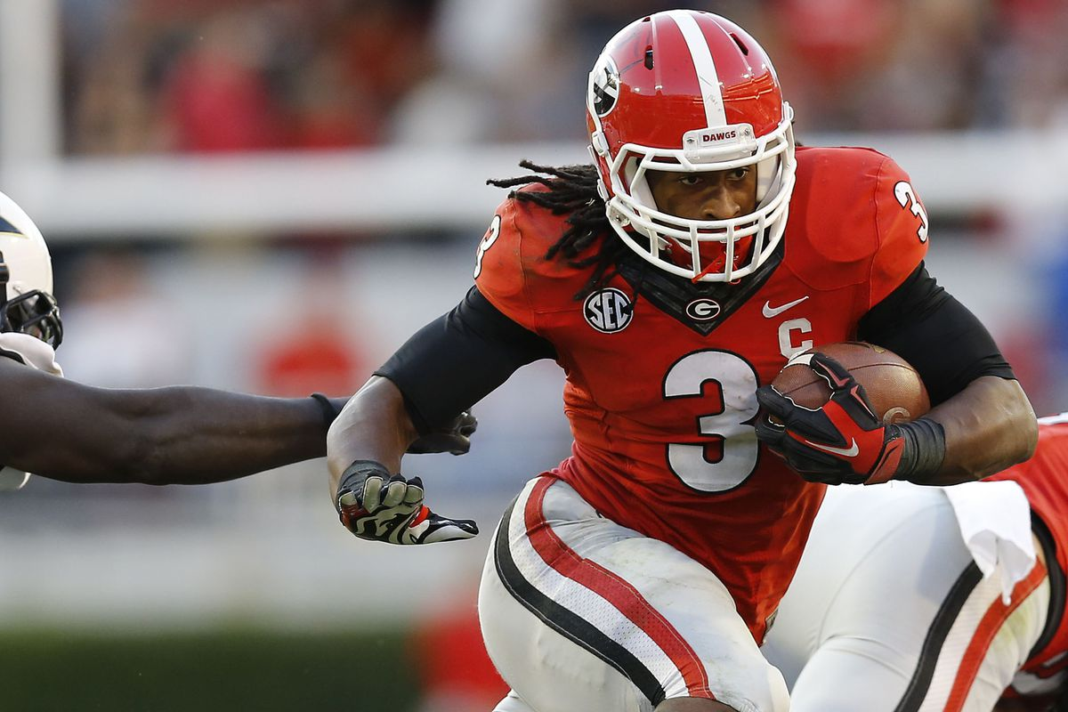 Georgia Rb Todd Gurley S Suspension Could Reportedly Last Full Season Sbnation Com