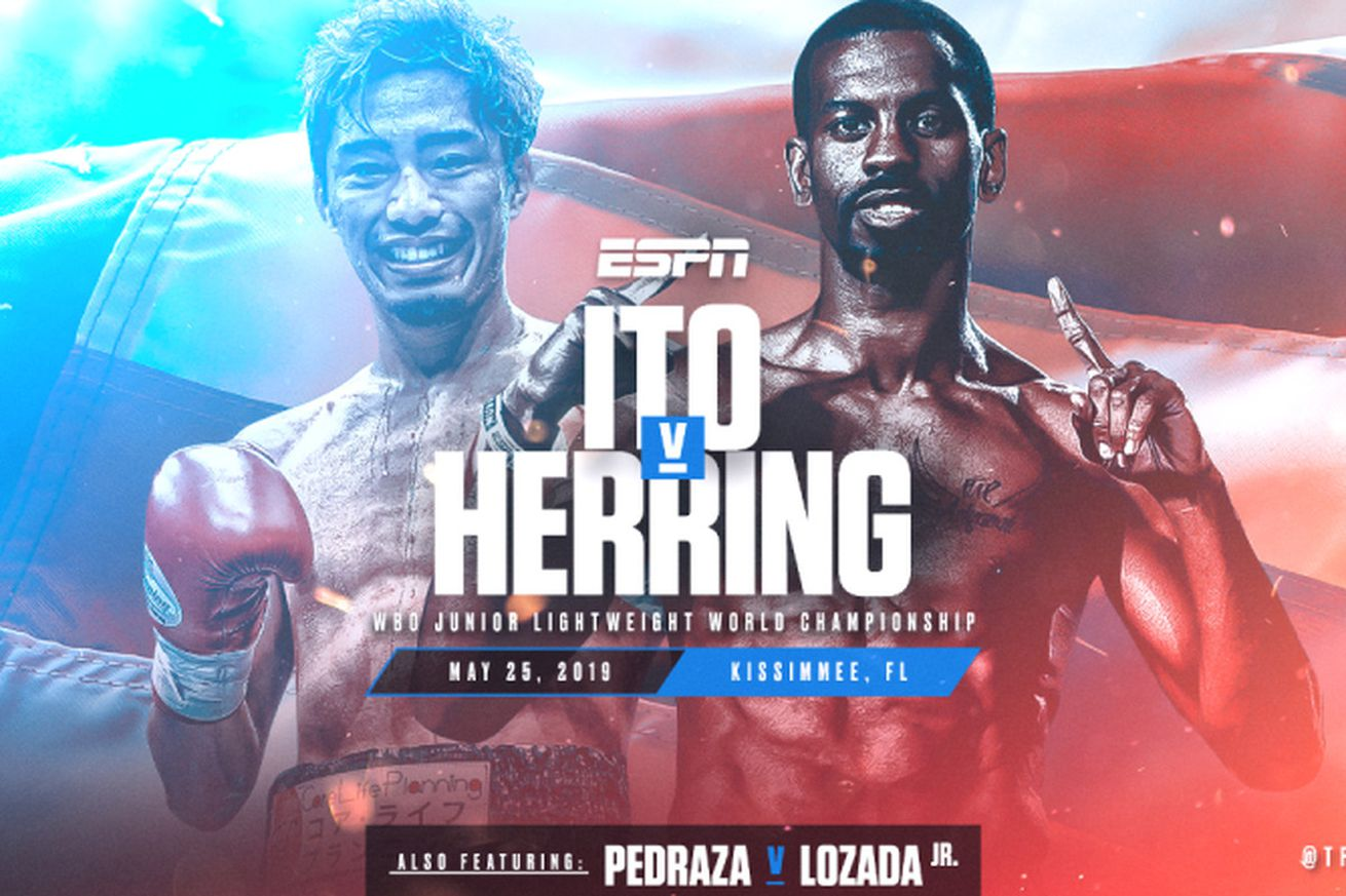 herring ito.0.png.0 - Ito-Herring: Live streaming weigh-in, 5 pm ET