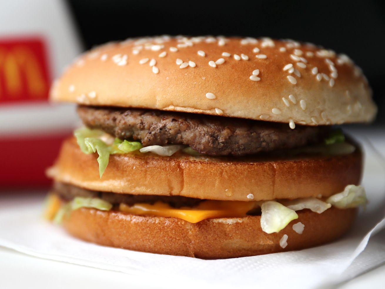 A Meatless McDonald