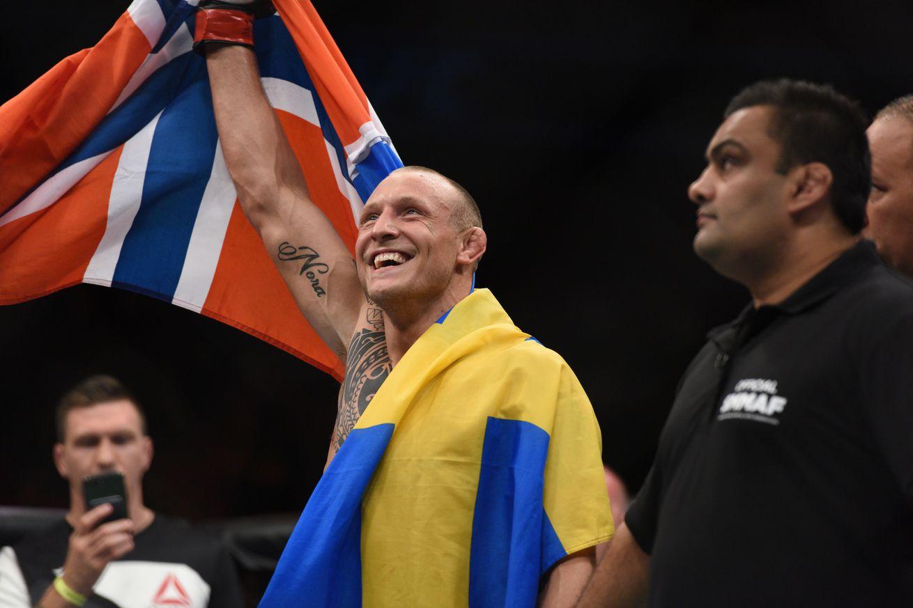 Knockout! Watch Jack Hermansson smash Brad Scott at UFC Fight Night 114