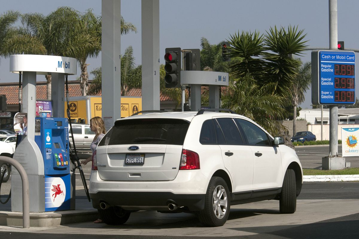 Lower gas prices? Maybe. (Cheryl A. Guerrero/Los Angeles Times via Getty Images)