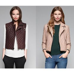 """<a href=""""http://www.theory.com/leather-vest/C0700401,default,pd.html?dwvar_C0700401_color=NCC&start=1&cgid=womens-just-in""""><b>Theory</b> Madrigal Leather Vest</a> $755 and <a href=""""http://www.theory.com/MADIGAN/C0700402,default,pd.html?dwvar_C0700402_colo"""
