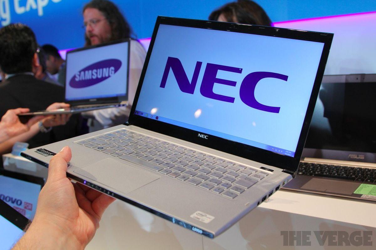 NEC LaVie Z stock 1024