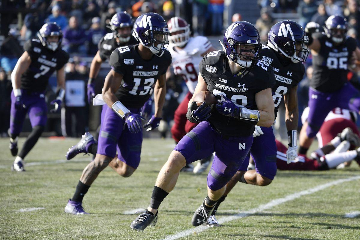 NCAA Football: Massachusetts at Northwestern