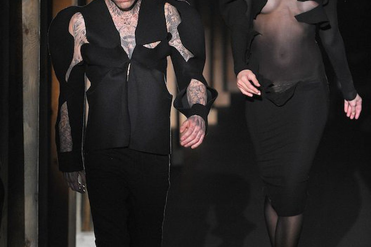 Zombie Boy on the Mugler runway, photo credit: Getty Images