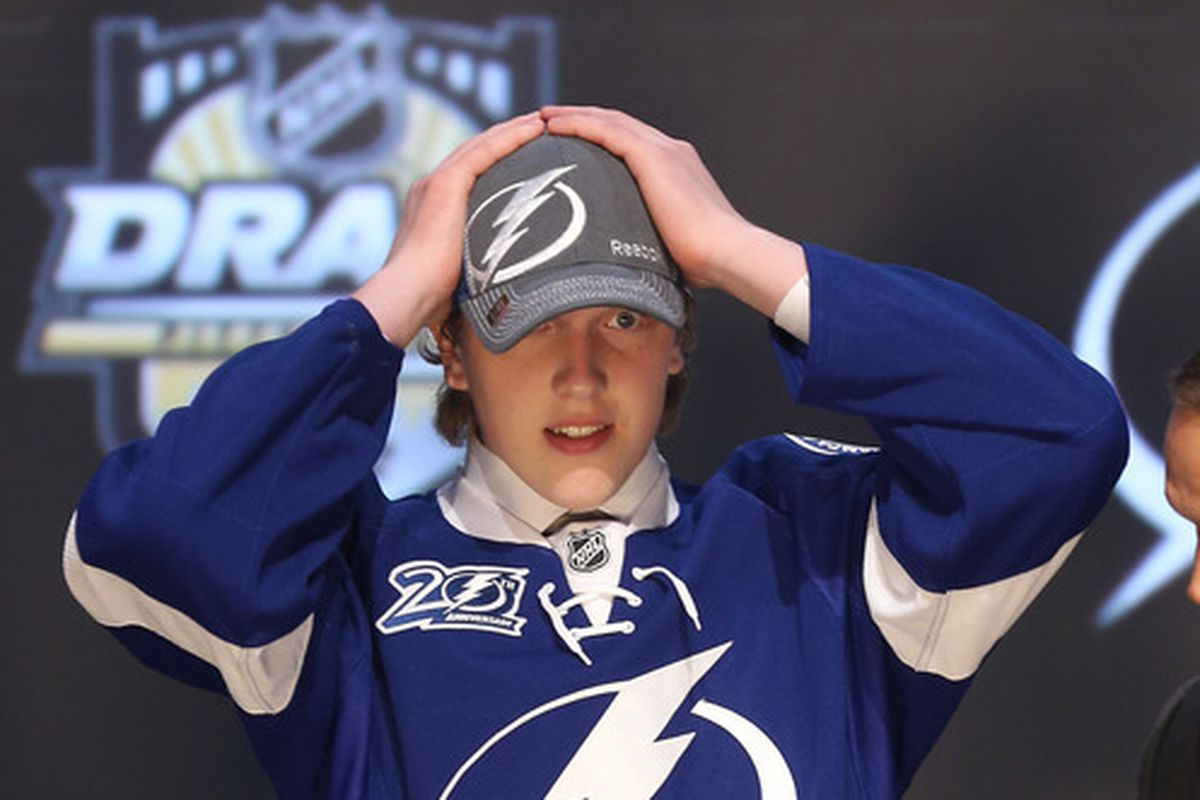 Andrey Vasilevskiy was drafted 19th overall by the Tampa Bay Lightning in the 2012 NHL Entry draft.