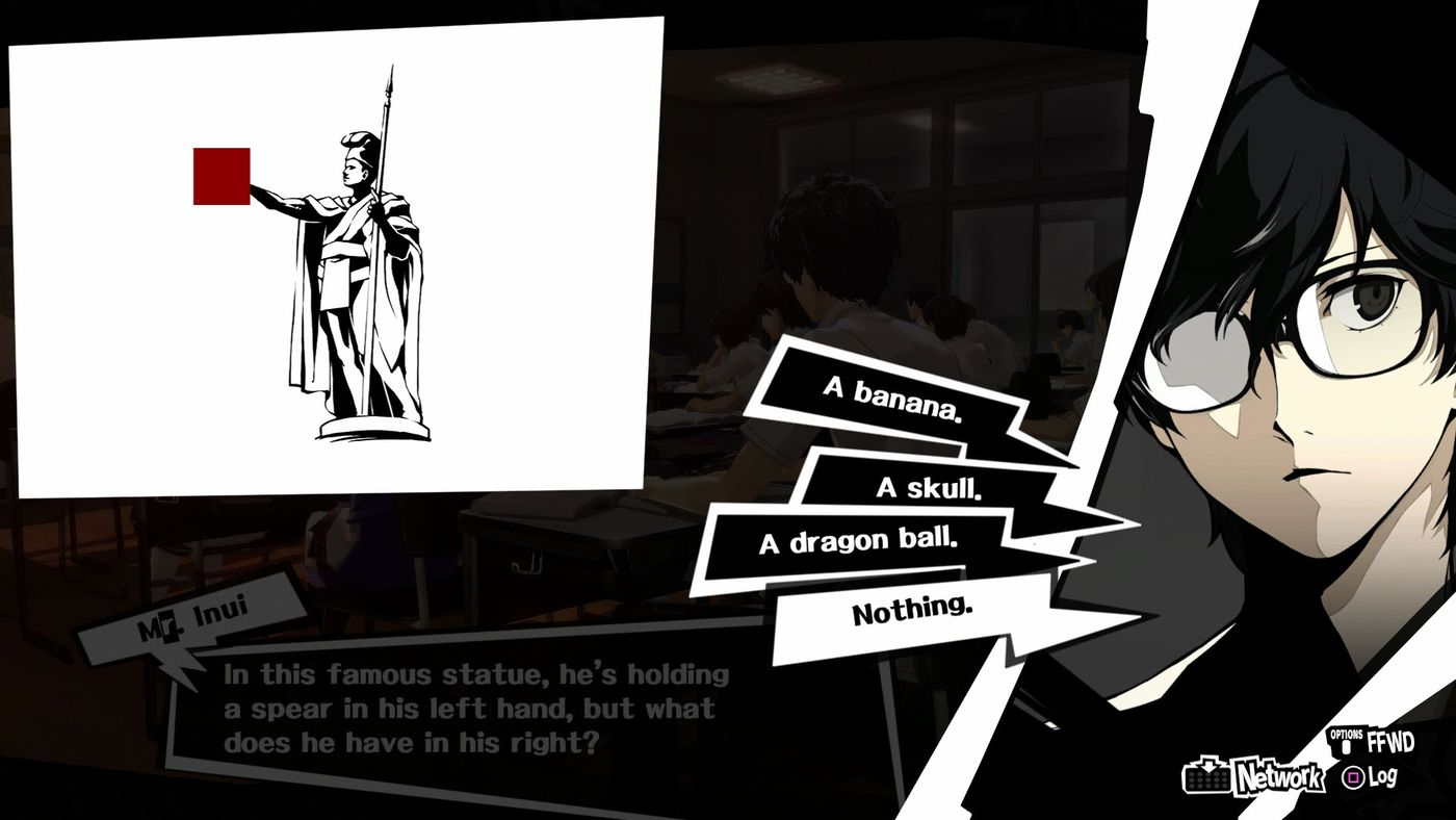 Persona 5 guide: All classroom answers - Polygon