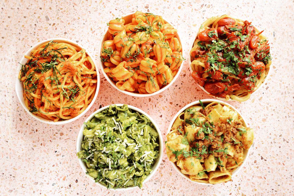 The Sosta pastas