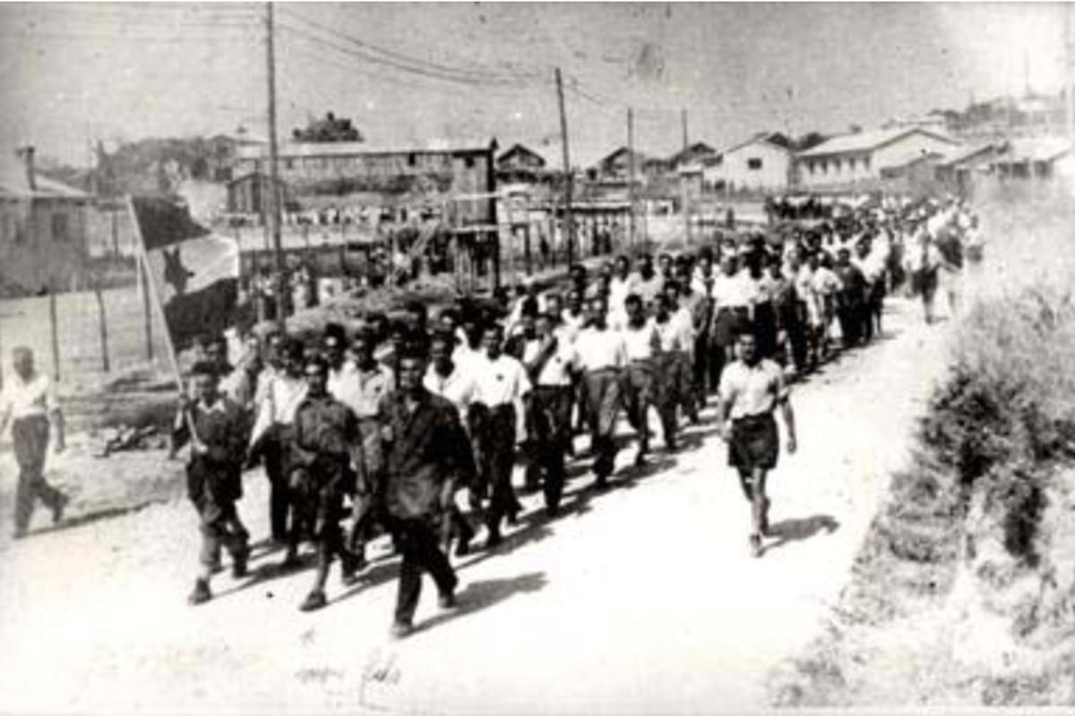 Jewish Legion, Yugoslavia, 1943.