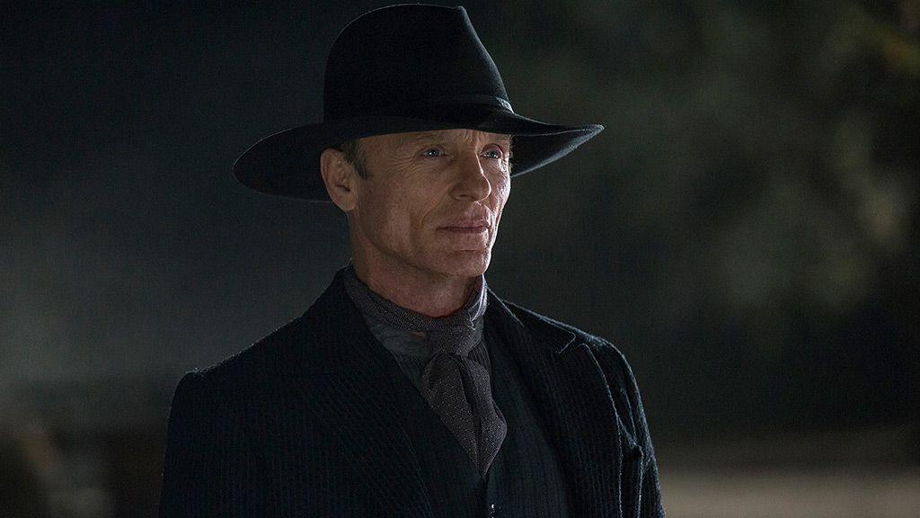 Ed Harris as The Man in Black on Westworld.