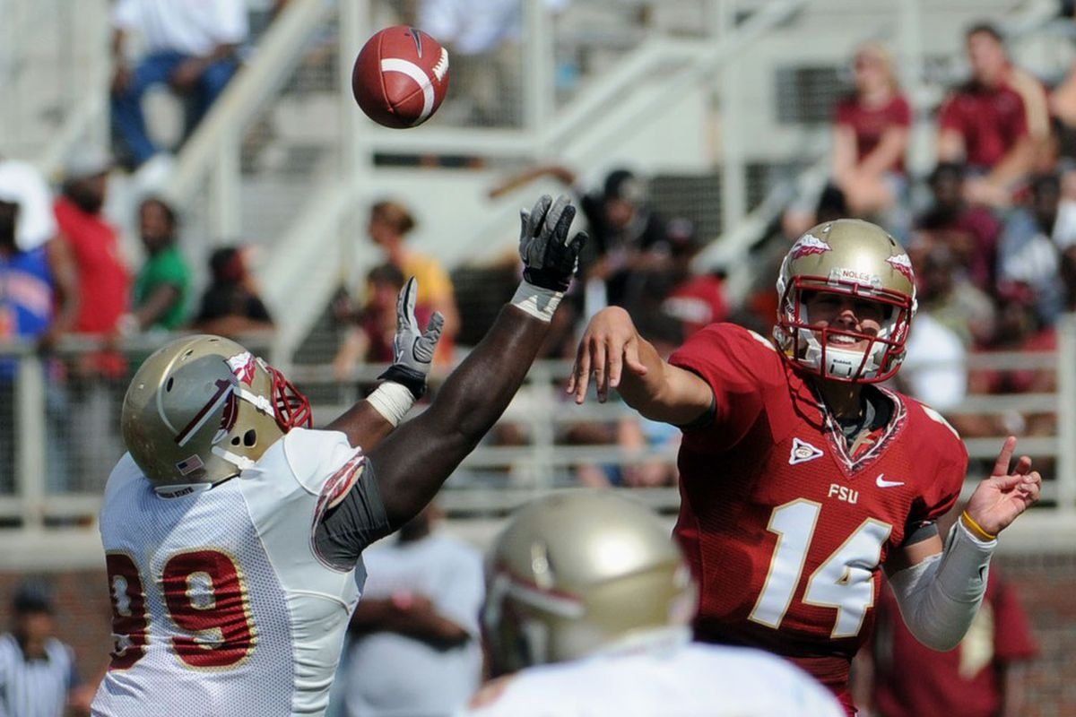 Florida state spring football 2013 preview who will be starting melina vastola us presswire voltagebd Image collections