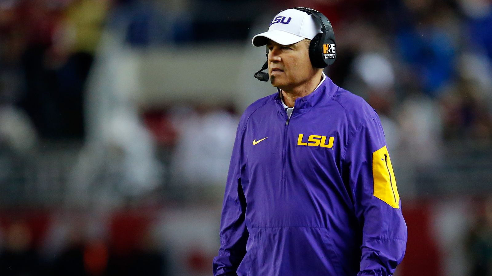 Les Miles denies he indicated Texas A&M game will be his ...
