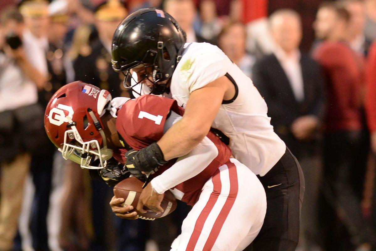 NCAA Football: Army at Oklahoma