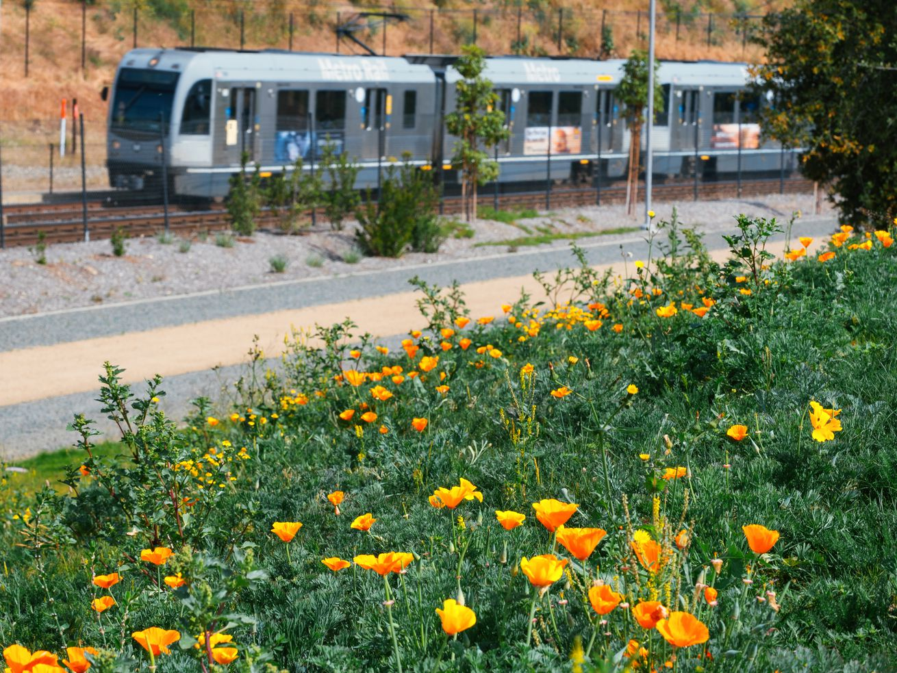 One part of Metro's plan is better local bus service between parks and rail lines.