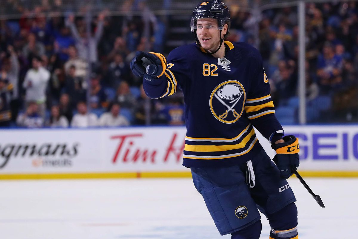 879dcc5f19e Kevin Hoffman-USA TODAY Sports. The Buffalo Sabres have sent defenseman Nathan  Beaulieu ...