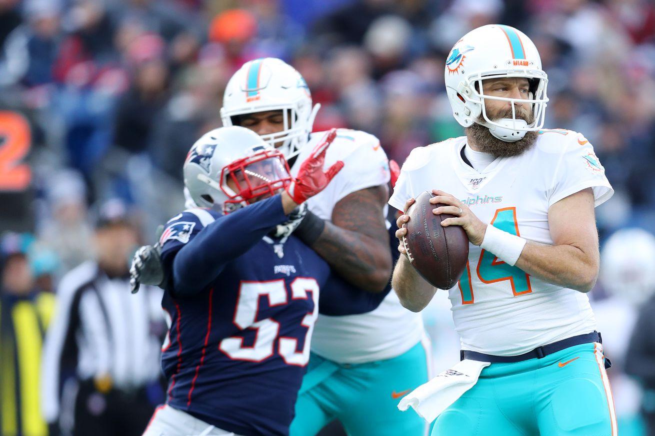 Miami Dolphins vNew England Patriots