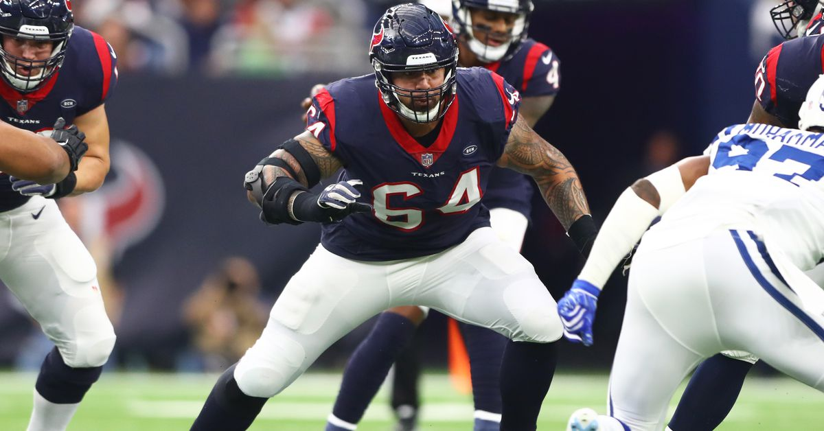 Texans v. Chargers Inactives