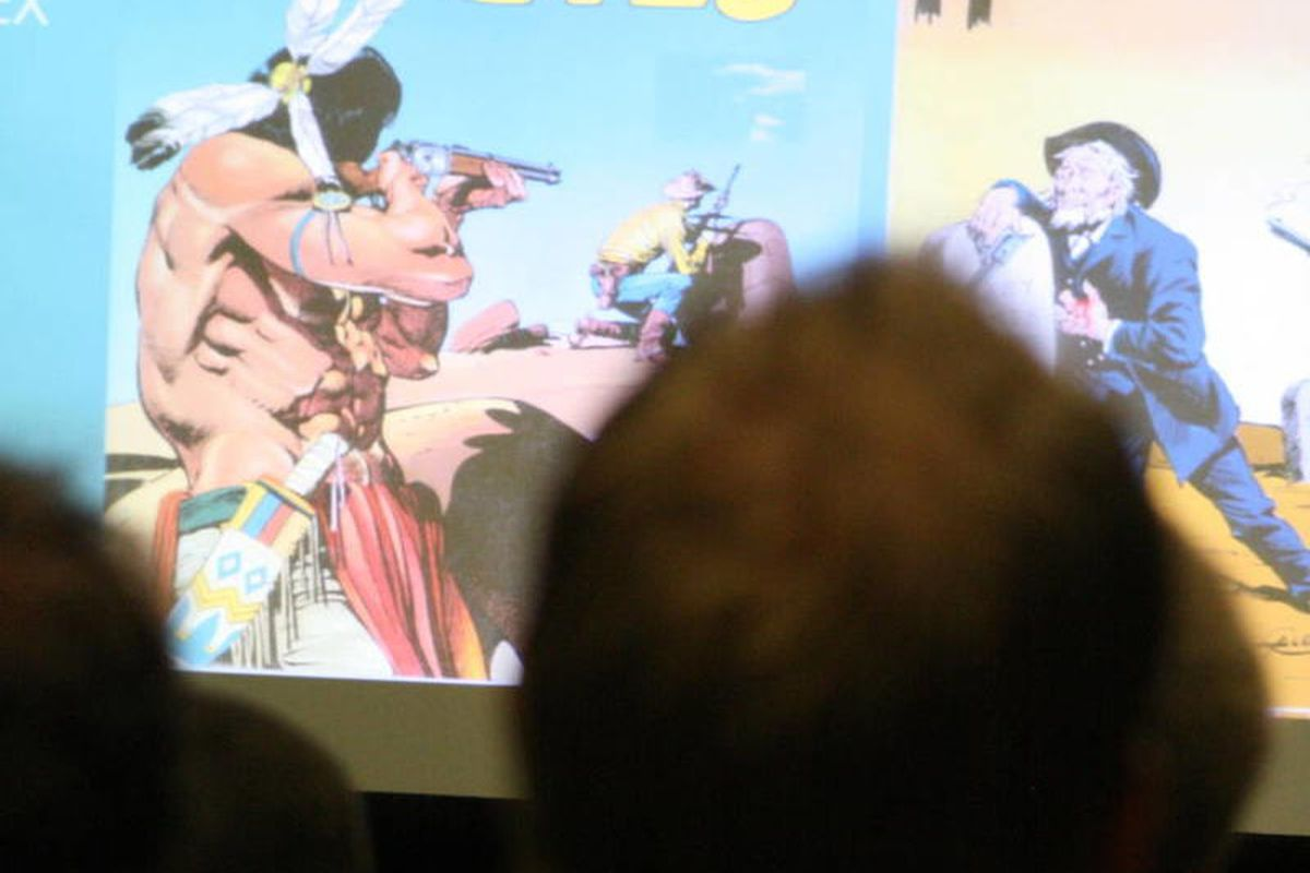 """Much of the """"Mormons and Comics"""" panel at Salt Lake Comic Con reviewed a 2010 special edition of Sunstone Magazine that focused on Mormon themes, characters and artists in the genre."""