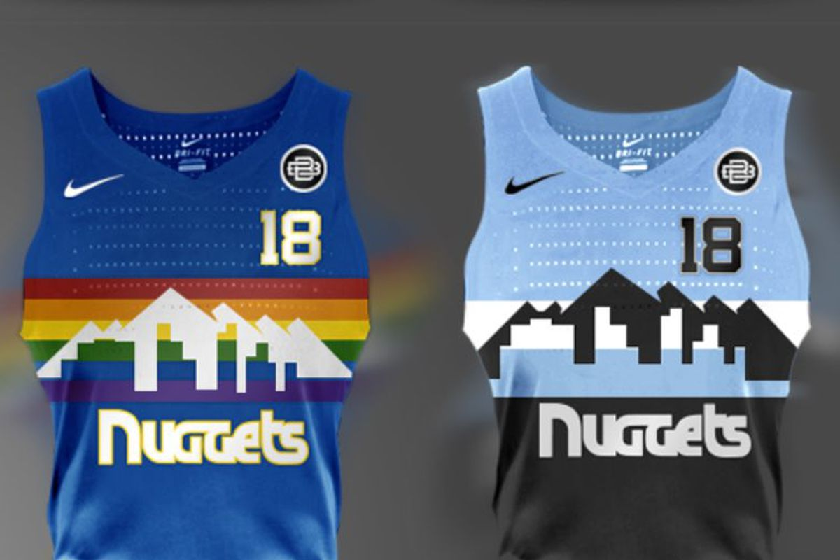 online store 164ea 219a6 These fan-made Denver Nuggets jersey designs are the best ...