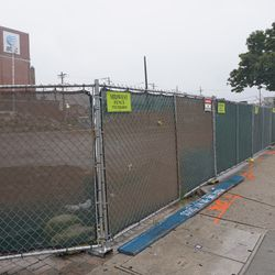 The site of the former 7-11, across from the ballpark, at Sheffield and Addison