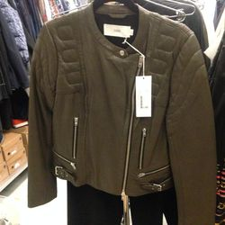 Closed leather jacket, $277 (was $792)