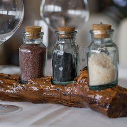 Biscayne Steak, Sea & Wine's finishing salts