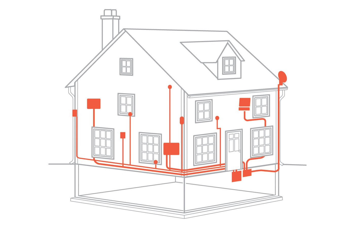 [DIAGRAM_4FR]  From the Ground Up: Electrical Wiring - This Old House | Design Home Wiring |  | This Old House