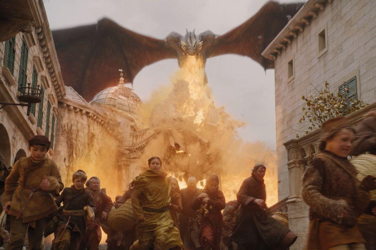 Game of Thrones S08E05 Dany murder