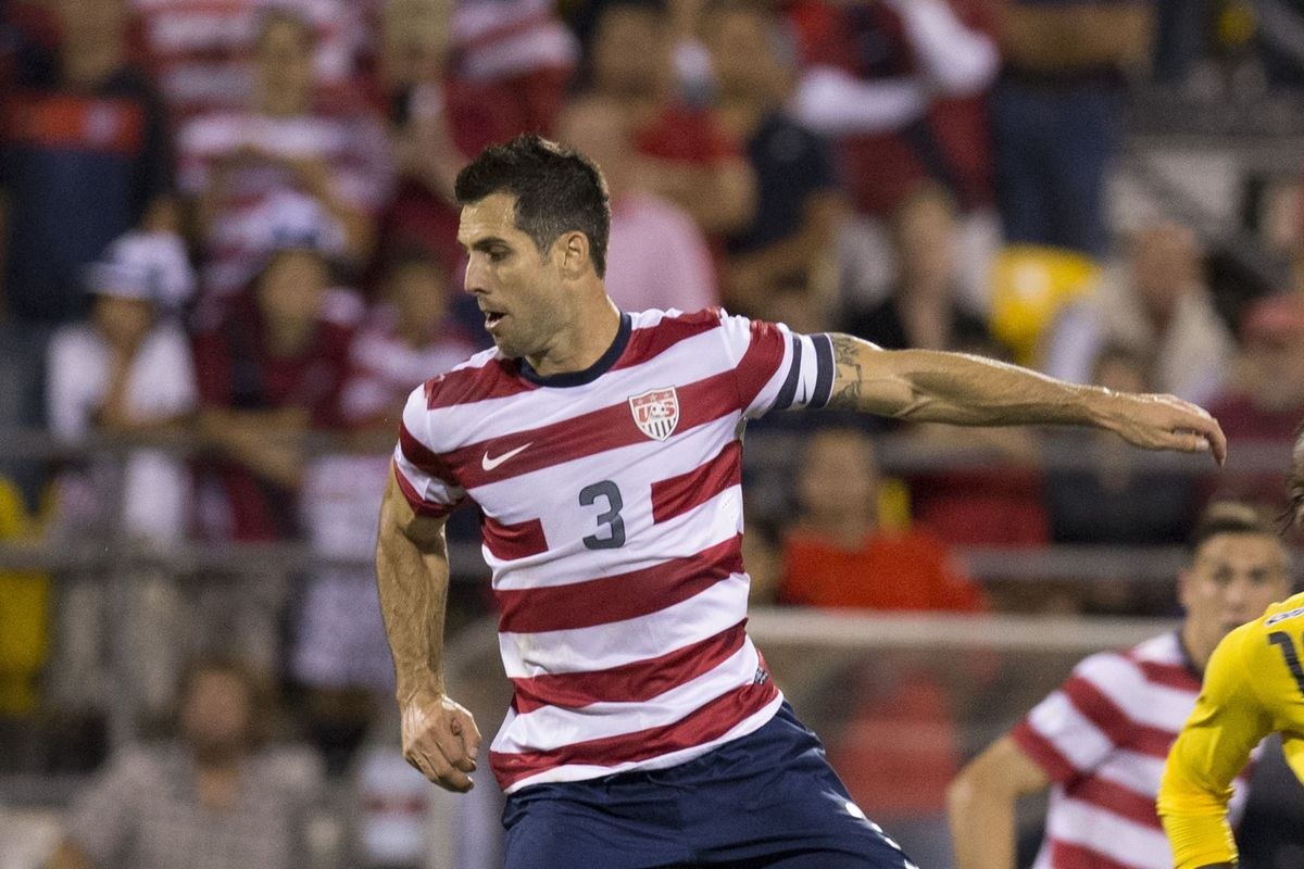 Bocanegra back when Klinsi actually called him in for the USMNT