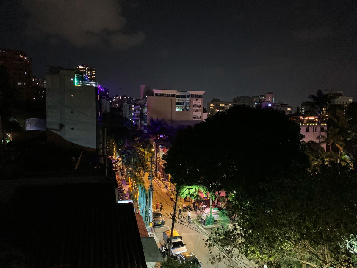 A look at the streets in Medellín, Colombia