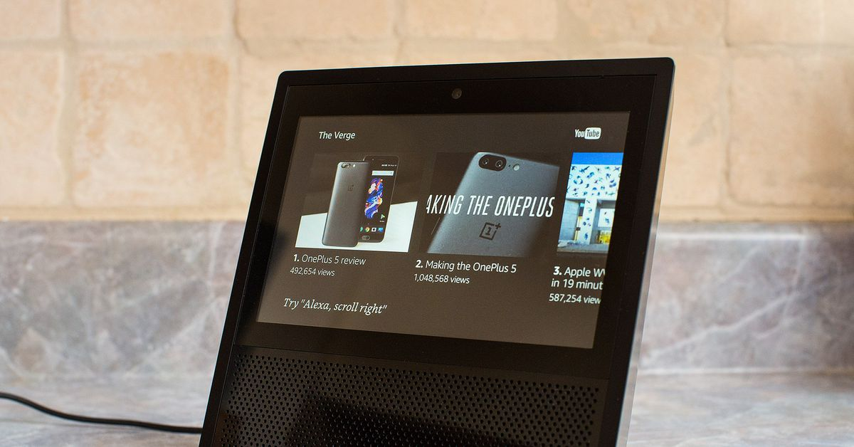 Youtube Is Back On Amazon S Echo Show The Verge